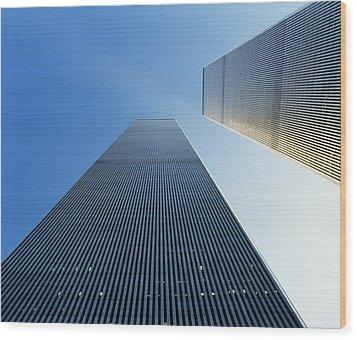 Twin Towers Wood Print by Jon Neidert