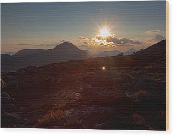 Twinkle Wood Print by Jim Garrison