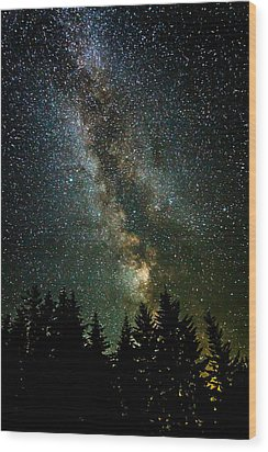 Twinkle Twinkle A Million Stars  Wood Print