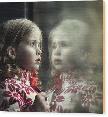 Twins Wood Print by Michel Verhoef