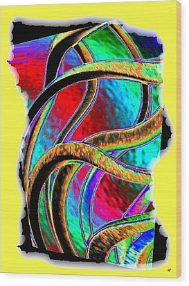 Twist And Shout 3 Wood Print by Will Borden