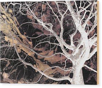 Twisted Dance - Dark Dreams Wood Print by Shawna Rowe
