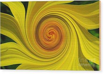 Twisted Wood Print by Janice Westerberg