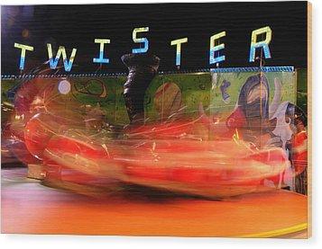 Twister Wood Print