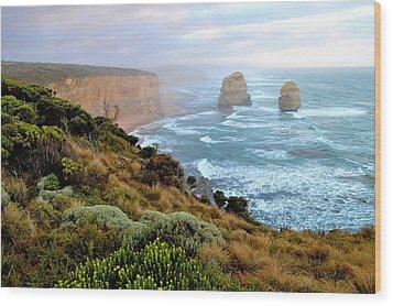 Two Apostles - Great Ocean Road - Australia Wood Print