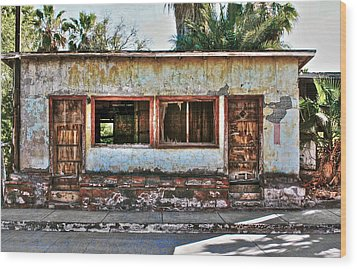 Wood Print featuring the photograph Two Door Model by Kandy Hurley
