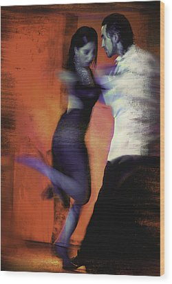 Two For Tango Wood Print by Steven Boone