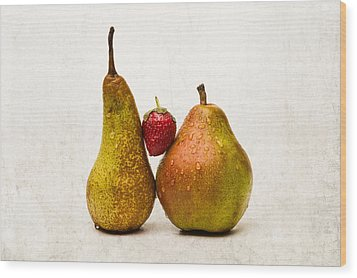 Two Lives One Heart Wood Print by Alexander Senin