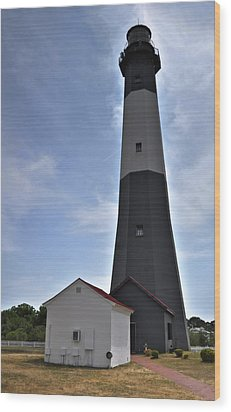 Wood Print featuring the photograph Tybee Island Lighthouse by Deborah Klubertanz