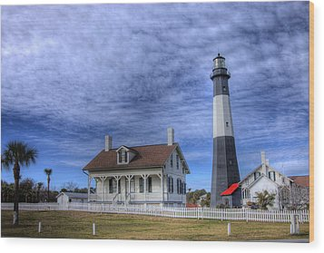 Tybee Island Lighthouse Wood Print