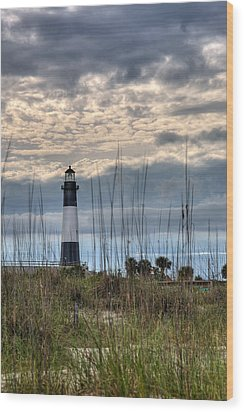 Tybee Light Wood Print