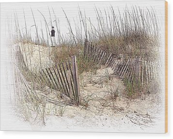 Tybee Lighthouse Wood Print by Marcia Colelli