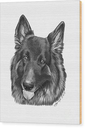 Tyson -038 Wood Print by Abbey Noelle