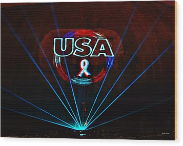 U S A Wood Print by George Bostian