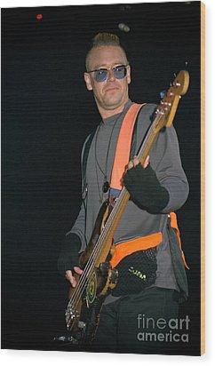 U2-adam-gp24 Wood Print by Timothy Bischoff