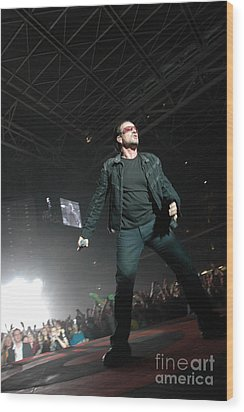 U2 Wood Print by Jenny Potter