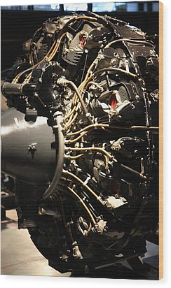 Udvar-hazy Center - Smithsonian National Air And Space Museum Annex - 121216 Wood Print by DC Photographer