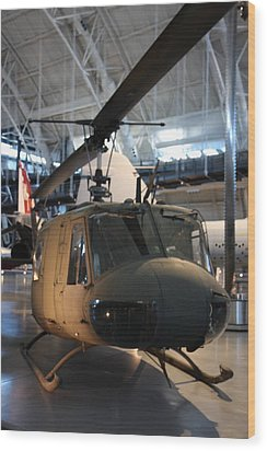 Udvar-hazy Center - Smithsonian National Air And Space Museum Annex - 121223 Wood Print by DC Photographer
