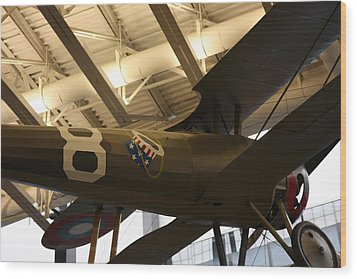 Udvar-hazy Center - Smithsonian National Air And Space Museum Annex - 121294 Wood Print by DC Photographer