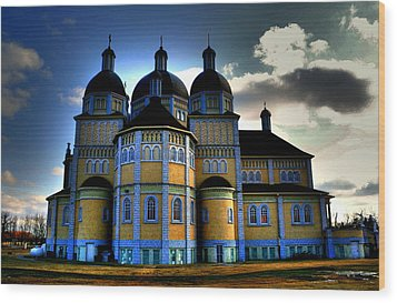 Ukrainian Catholic Church Of The Immaculate Conception Wood Print by Larry Trupp