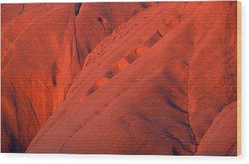 Uluru 1 Wood Print by Evelyn Tambour