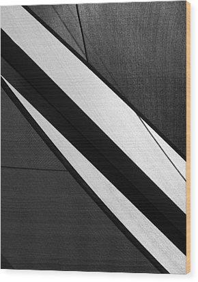 Umbrella Abstract Wood Print