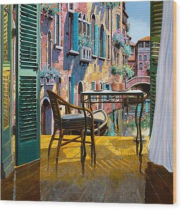 Un Soggiorno A Venezia Wood Print