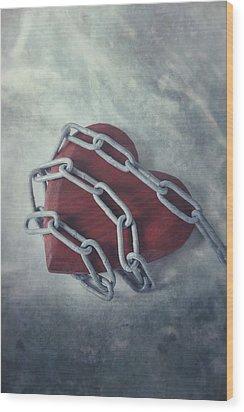 Unchain My Heart Wood Print by Joana Kruse