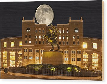Unconquered Doak Campbell Full Moon Wood Print by Frank Feliciano