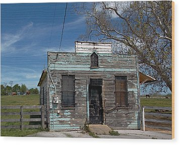 Undelivered Mail Wood Print by Skip Willits