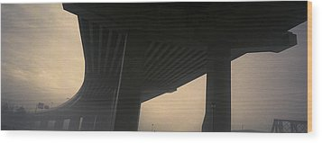 Underneath Decaying Decarie Autoroute Wood Print by Roderick Chen