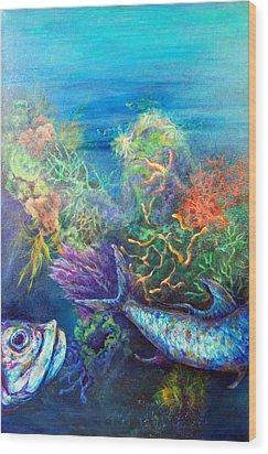 Jesus Reef  Wood Print