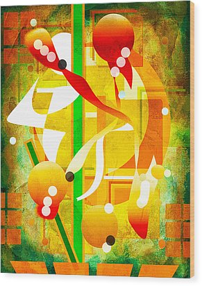 Unforgettable Too Wood Print by Francine Collier