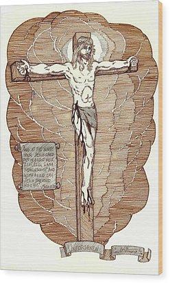 Unforsaken Wood Print by Carl Benson