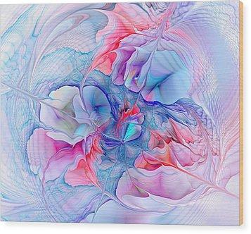 Unicorn Dream Wood Print by Anastasiya Malakhova