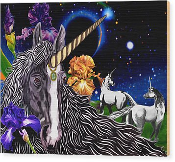 Unicorn Dream Wood Print