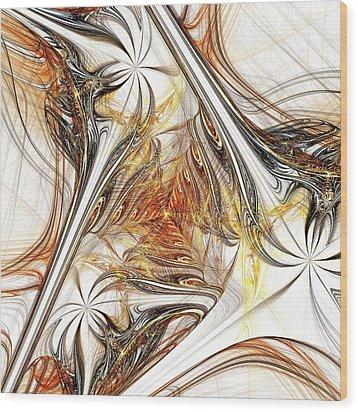 Unicorn Path Wood Print by Anastasiya Malakhova