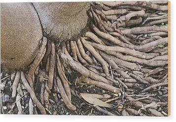 Union And Communion Wood Print by Sandra Pena de Ortiz