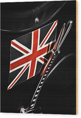 Union Jack Wood Print by Phil 'motography' Clark