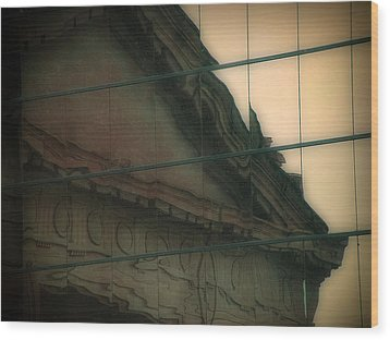 Union Station Wood Print