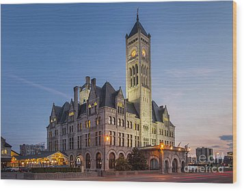 Union Station  Wood Print by Brian Jannsen