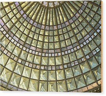 Union Station Skylight Wood Print by Karyn Robinson