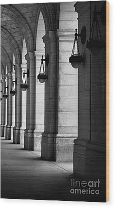 Union Station Washington Dc Wood Print by John S
