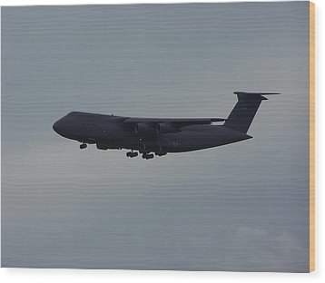 Wood Print featuring the photograph United State Air Force by Michele Kaiser