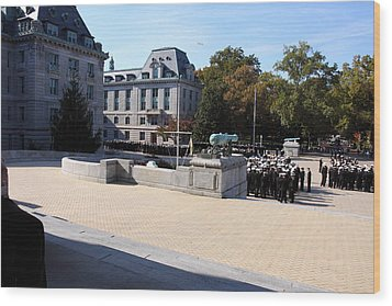 United States Naval Academy In Annapolis Md - 121227 Wood Print by DC Photographer