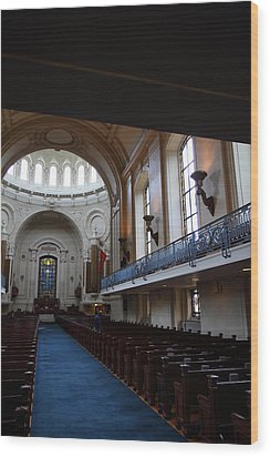 United States Naval Academy In Annapolis Md - 121261 Wood Print by DC Photographer