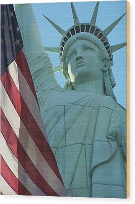 United States Of America Wood Print