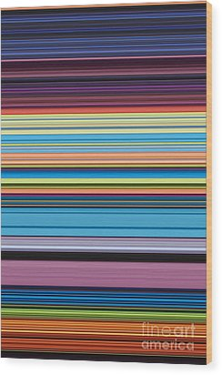 Unity Of Colour 4 Wood Print by Tim Gainey