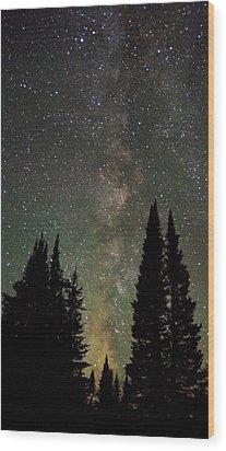 Universal Lights Wood Print by Matt Helm