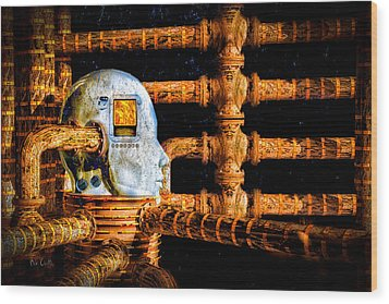 Universal Mind Wood Print by Bob Orsillo